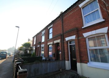 Thumbnail 1 bed terraced house to rent in Leopold Road, Norwich