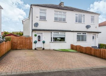 Thumbnail 4 bed semi-detached house for sale in Rockmount Avenue, Giffnock, Glasgow