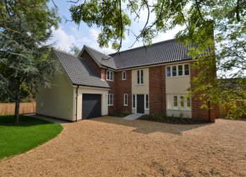 Thumbnail 5 bed detached house for sale in Dumpling Green, Dereham