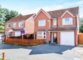 Thumbnail 4 bed detached house for sale in Mallard Way, Market Rasen