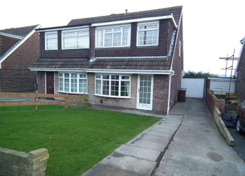 Thumbnail 3 bed semi-detached house to rent in Woodlea Grove, Yeadon, Leeds