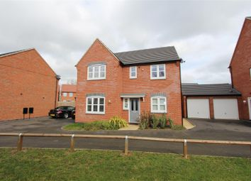Thumbnail 4 bed detached house for sale in Leaders Way, Lutterworth, Lutterworth