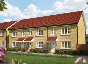 "Thumbnail 3 bed semi-detached house for sale in ""The Hazel"" at Gainsborough, Milborne Port, Sherborne"