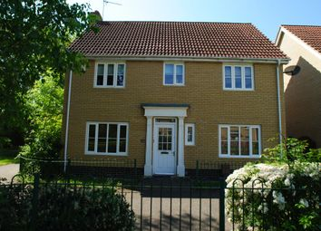 Thumbnail 4 bed detached house to rent in Victory Court, Diss