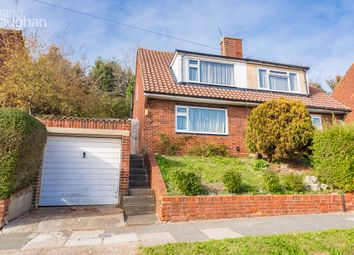 Thumbnail 3 bedroom semi-detached house to rent in Thompson Road, Brighton, East Sussex
