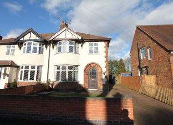 Thumbnail 3 bed semi-detached house to rent in Woodland Road, Hinckley