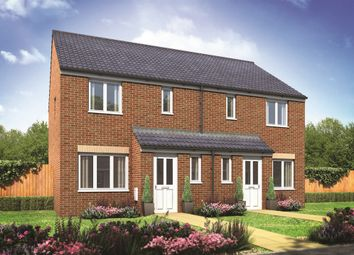 "Thumbnail 3 bed semi-detached house for sale in ""The Hanbury"" at Redhouse Lane, Disley"
