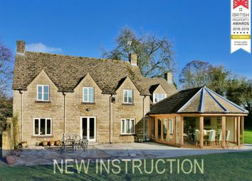 Thumbnail 4 bed detached house to rent in Ampney Crucis, Cirencester