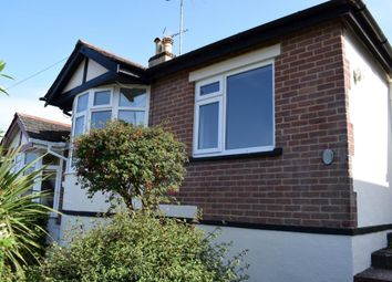 Thumbnail 2 bed semi-detached bungalow to rent in Carlton Drive, Preston, Paignton, Devon