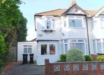 Thumbnail 3 bedroom end terrace house for sale in Bridlington Road, Edmonton