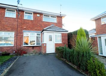 Thumbnail 3 bedroom end terrace house for sale in Sywell Close, Sutton-In-Ashfield, Nottinghamshire