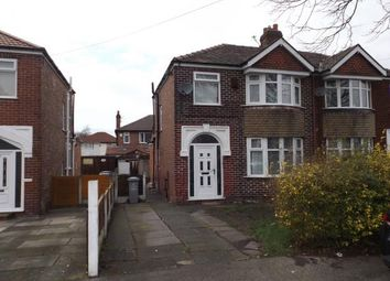 Thumbnail 3 bed semi-detached house for sale in Winster Avenue, Stretford, Manchester, Greater Manchester