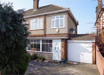 Thumbnail 3 bedroom semi-detached house for sale in Ockendon Road, Upminster