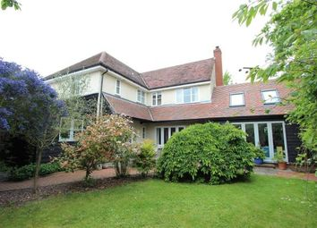 Thumbnail 4 bed detached house for sale in Church Rise, Helions Bumpstead, Haverhill, Suffolk