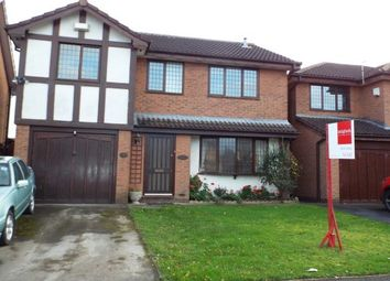 Thumbnail 4 bed detached house to rent in Farmleigh Drive, Crewe