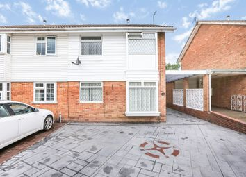 Thumbnail 3 bed semi-detached house for sale in Calstock Road, Willenhall