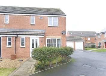 Thumbnail 3 bed semi-detached house for sale in De Havilland Way, Hartlepool