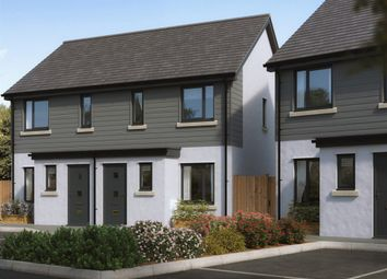 "Thumbnail 2 bed terraced house for sale in ""The Alnwick"" at Broxton Drive, Plymstock, Plymouth"
