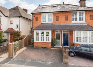 Thumbnail 4 bed semi-detached house for sale in Kings Road, Walton-On-Thames