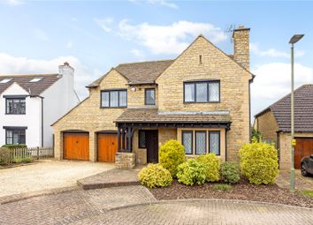 Thumbnail 4 bed detached house for sale in Stoke Park Court, Bishops Cleeve, Cheltenham, Gloucestershire
