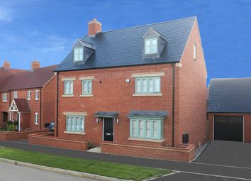 "Thumbnail 5 bed detached house for sale in ""Warwick"" at Halse Road, Brackley"