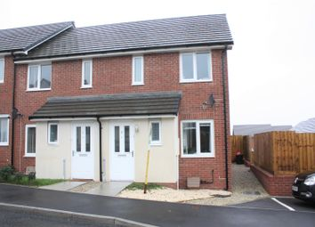 Thumbnail 2 bed end terrace house to rent in Bownder Treveli, Lane, Newquay