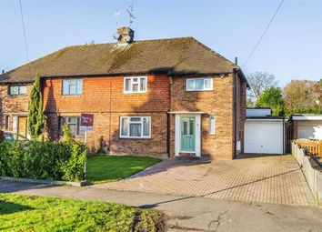 Thumbnail 3 bedroom semi-detached house for sale in Hurstlands, Oxted, Surrey