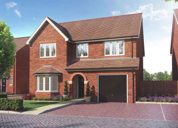"""Thumbnail 4 bed detached house for sale in """"The Pebworth"""" at Main Street, Grendon Underwood, Aylesbury"""