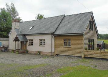 Thumbnail 3 bed detached house for sale in Gungrog Fawr Barn, Rhallt, Welshpool, Powys