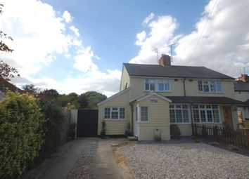 Thumbnail 3 bed semi-detached house for sale in Bakers Cottages, Hyde Lane, Danbury, Chelmsford