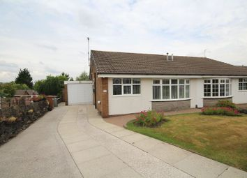 Thumbnail 2 bed semi-detached bungalow for sale in Ashmount Drive, Cronkeyshaw, Rochdale