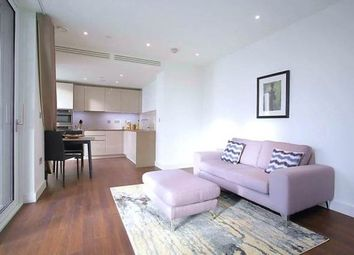 Thumbnail 1 bed flat to rent in Haydn Tower, Nine Elms, London