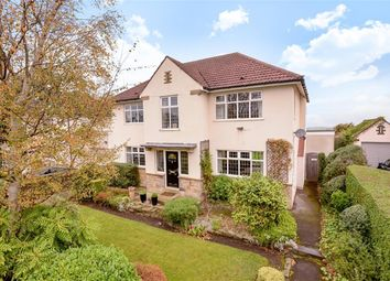Thumbnail 4 bed detached house for sale in Lakeland Crescent, Alwoodley, Leeds