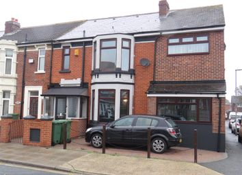 Thumbnail 4 bedroom end terrace house for sale in Langstone Road, Portsmouth