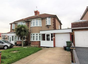 Thumbnail 3 bed semi-detached house to rent in Plaxtol Road, Erith