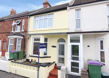 Thumbnail 3 bed terraced house for sale in Broomfield Road, Cheriton, Folkestone
