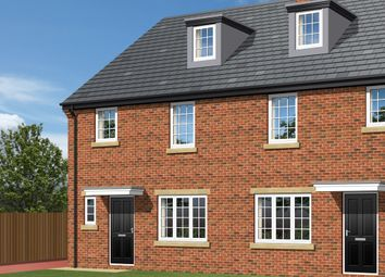 Thumbnail 4 bed semi-detached house for sale in 'the Brambles', Plot 12, Park View, Brierley, Barnsley