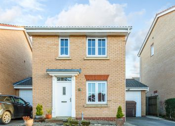 Thumbnail 3 bed detached house for sale in Waterdale Close, Bridlington