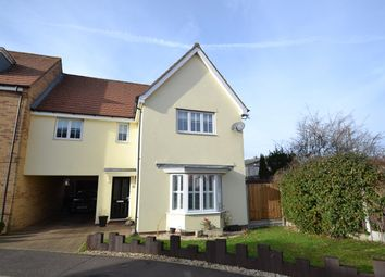 Thumbnail 4 bed link-detached house for sale in Whitebeam Close, Mile End, Colchester