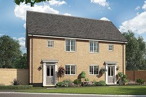 Thumbnail 2 bedroom terraced house for sale in The Grice, Cromer Road, Holt, Norfolk