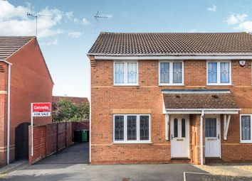 Thumbnail 3 bed semi-detached house for sale in Shelland Close, Market Harborough