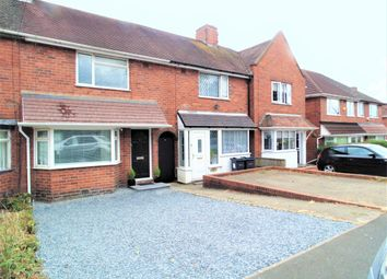 Thumbnail 2 bed terraced house for sale in Smalldale Road, Great Barr