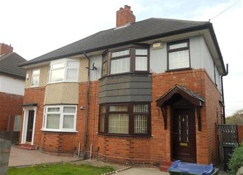 Thumbnail 2 bed semi-detached house to rent in Holly Road, Wednesbury
