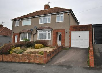 Thumbnail 3 bed semi-detached house for sale in Hillyfield Road, Headley Park, Bristol