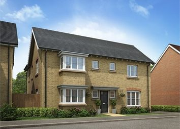 Thumbnail 4 bedroom detached house for sale in Knights Walk, Hare Street Road, Buntingford, Hertfordshire