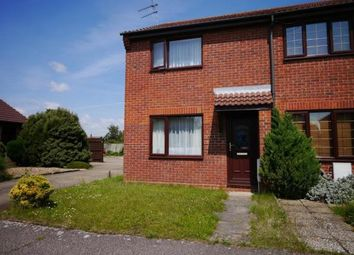 Thumbnail 2 bedroom end terrace house to rent in Sunnyfields, Lowestoft