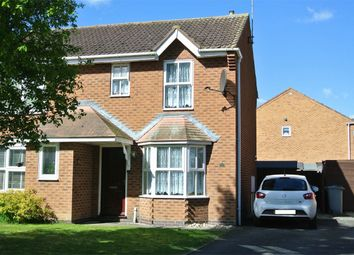 Thumbnail 2 bed semi-detached house for sale in Rochester Court, Bourne, Lincolnshire