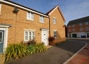 Thumbnail 3 bed terraced house for sale in Octavian Crescent, North Hykeham, Lincoln