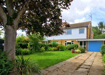 Thumbnail 3 bed semi-detached house for sale in Wimpole Road, Great Eversden, Cambridge
