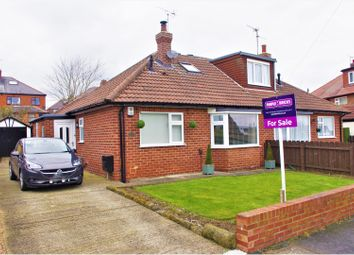 Thumbnail 3 bed semi-detached bungalow for sale in Aspin Oval, Knaresborough